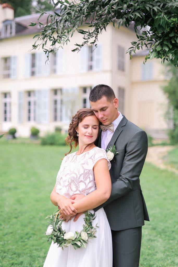 Mariage végétal chic shooting d'inspiration Nas and Co's Events wedding planners Seine-et-Marne, Paris et région Parisienne